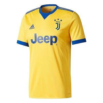 826d45c98 adidas Juventus 2017 - 2018 Away Soccer Jersey New Yellow   Blue Kids -  Youth