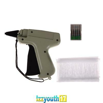 "Clothes Regular Garment Price Label Tagging Tag Gun 3"" 1000 Barbs + 5 Needles"