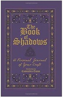 Book of Shadows Journal Pagan/Wiccan ritual book tool