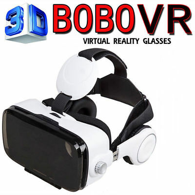 FASHION BOBO VR Box Z4 Virtual Reality Headset 3D Movie Cardboard Game Glasses