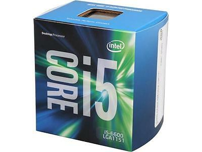 intel core i5 6600 CPU with stock cooler