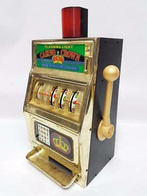 Slot machine casino crown waco funzionante 200 lire anni 80