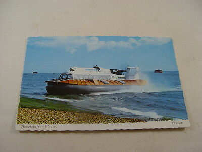 TPT098 - Postcard - Hovercraft in Water