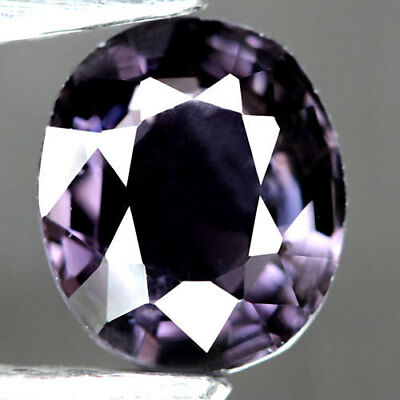 1.57Ct.twinkling ! Oval Facet Purple Natural Spinel Tanzania