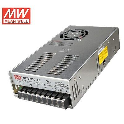 MW 24V 350W AC/DC Switching Power Supply Mean Well NES-350-24 For LED Strip