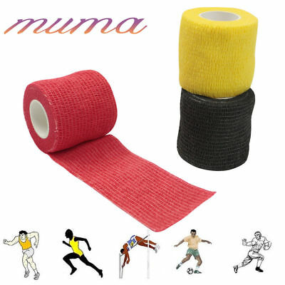10 Rolls Sports Tape Wrap Sock Tape ( football, equine, rugby ) Cohesive Bandage