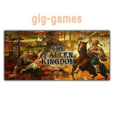 The Fallen Kingdom PC spiel Steam Download Digital Link DE/EU/USA Key Code Gift