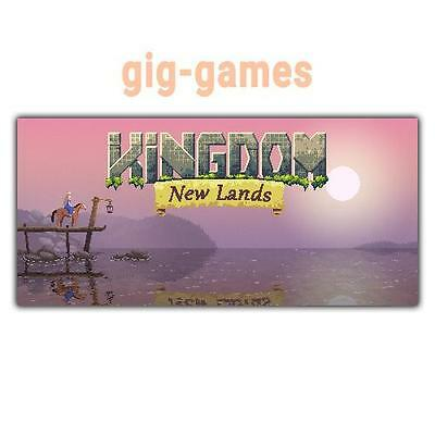Kingdom: New Lands PC spiel Steam Download Digital Link DE/EU/USA Key Code Gift