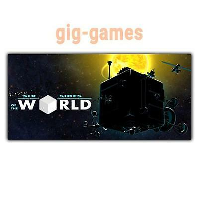 Six Sides of the World PC spiel Steam Download Digital Link DE/EU/USA Key Code