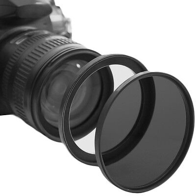 77mm 82mm 77 bis 82 Metall Step Up Lens Filter Ring Stepping Adapter schwarz