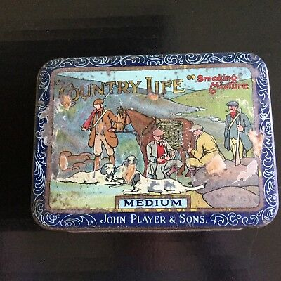 """Player's """"Country Life """"  Tobacco Tin"""