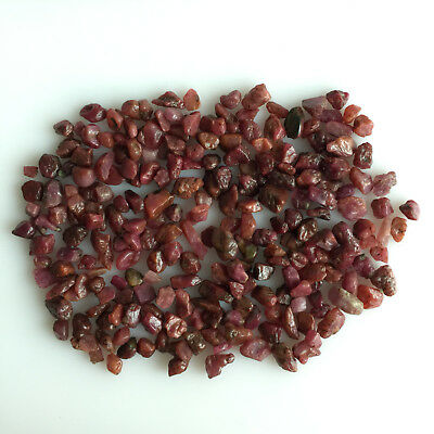 Natural Ruby Raw Rough Scoop Loose Gemstone Lot Untreated Red Mineral Earthmined