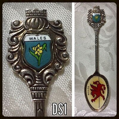 Vintage Souvenir Spoon Wales - Dragon