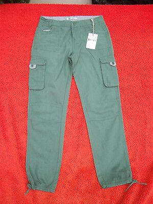 "Pair Of Girls  New Cargo Pants From ""roxy"" In Size 12"