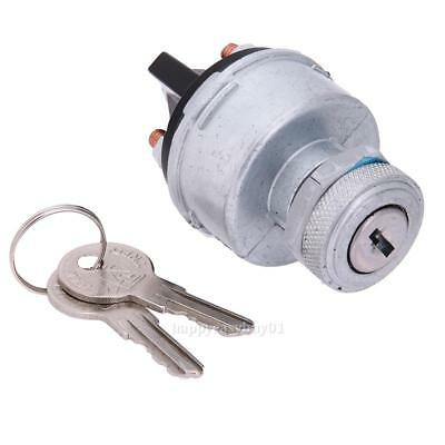 Car Truck Engineering Vehicle Ignition Starter Key Switch with 2 Keys H1