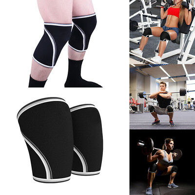 Quest Neoprene Knee Sleeves (7mm) Weightlifting Crossfit Powerlifting Strongman