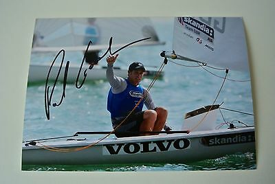 Paul Goodison SIGNED Autograph 7x5 Photo Olympic Sailing CLEARANCE Sale & COA