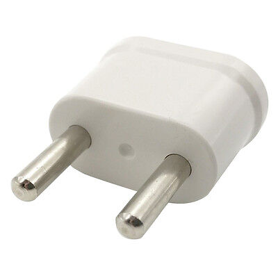 Travel Charger Wall AC Power Plug Adapter Converter US USA to EU Europe 1Stk·