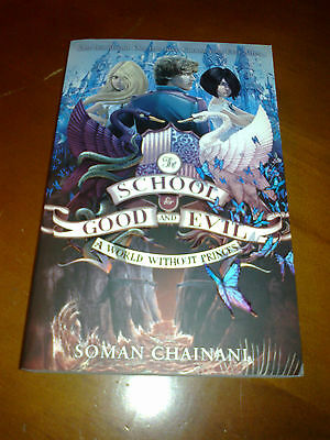☆New The School for good and evil A world without princes book - Soman Chainani☆