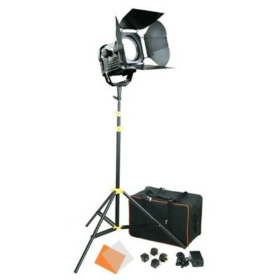 CAMTREE 1pc. SUN 6 LED Fresnel Light (C-SUN6-1) Stand Storage Bag Barn Doors
