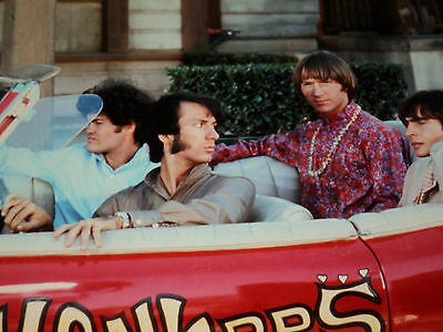 The Monkees / Sitting In Car /  8 X 10  Color  Photo