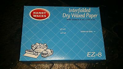 Handy Waxed Deli Paper EZ 8 * 500 ct