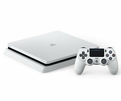 SONY PS4 PlayStation 4 Game console Glacier White 500GB CUH-2000AB02