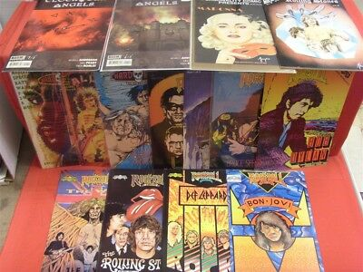 Rock N Roll Hard Rock Fantasy Personality Revolutionary Boom Comic Lot Htf Vf+