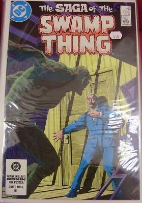 Saga Swamp Thing 21-64 Dc Comic Set Lot 1St Constantine 37 Alan Moore 1984 Vf+