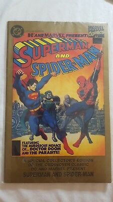 DC and Marvel Present: Superman and Spider-Man - A Special Collectors Edition of