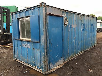 Site Office Storage Container Anti Vandal Steel 21ft by 8ft (More Available)