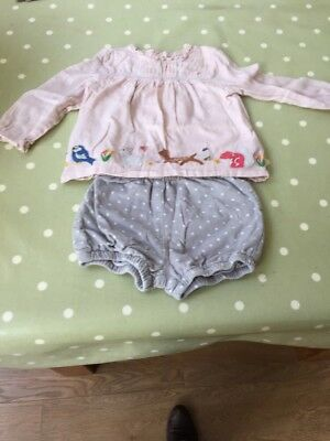 Boden Baby Girl Woodland Playsuit 12-18 Months