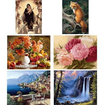 Wall Landscape Oil Painting Art Room Picture Numbers Kit Digital Decors 40*50CM