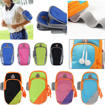 Universal Sport Gym Arm Band Case Running Jogging Pouch Bag For iPhone Samsung
