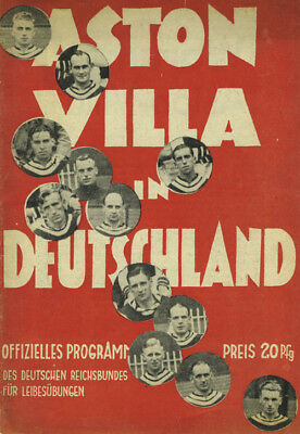 1938 Aston Villa vs Germany