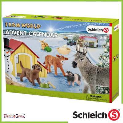Schleich 2017 Farm World Advent Calendar with Figures and Accessories