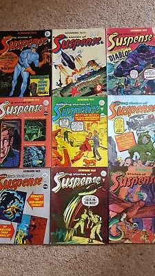 Astonishing Tales: Amazing Stories of Suspense Comics 9 issues
