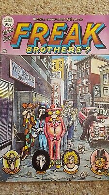 Freak Brothers Comic issue #4