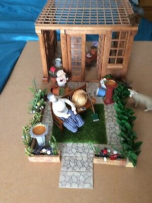 Dolls House-Large Lot Of Garden Items..some New..everything But The Grass!!