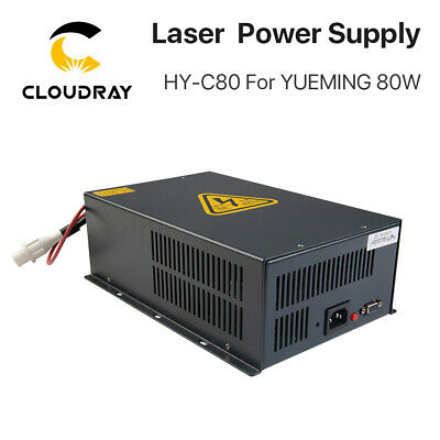 Yueming 80W Laser Source Power Supply for Engraving Cutting Machine 110V / 220V
