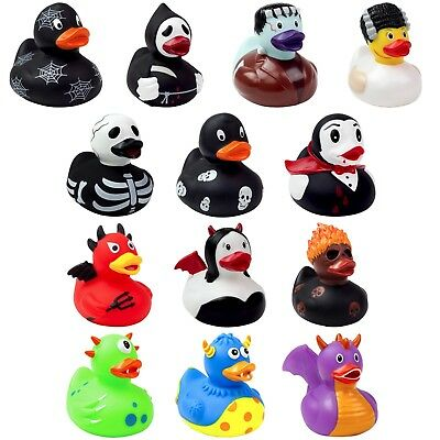 Halloween Rubber Duck Bathtime Play Toys Novelty Party Decoration Collectable