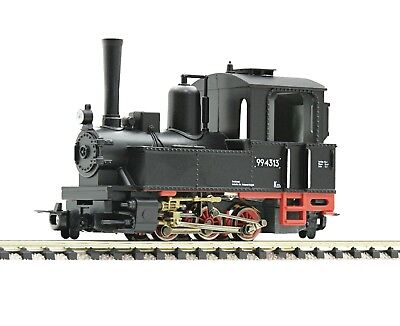 ROCO HOe 33241 0-6-0 Light Steam Tank Locomotive Epoch III-IV Tracked 48 Post