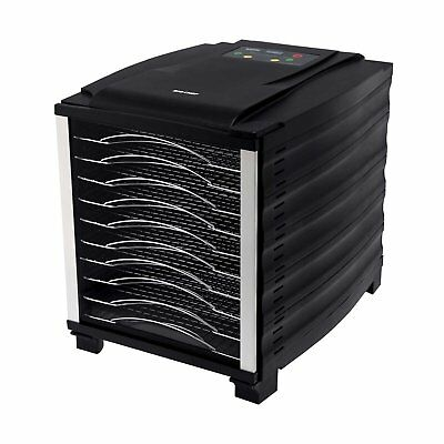 BioChef 10 Tray Food Dehydrator with Digital Timer - Black