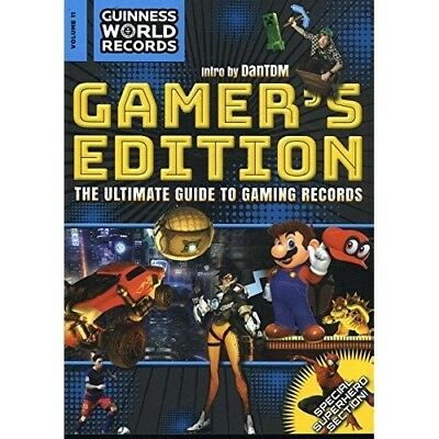 Guinness World Records Gamers Edition 2018 NEW Paperback Book Annual 1910561737