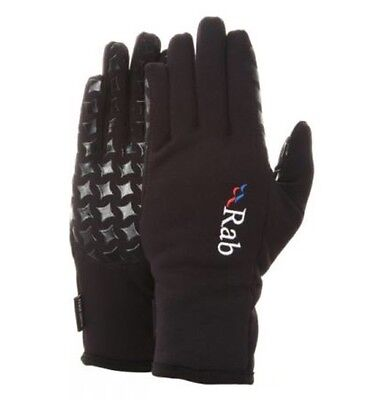 Rab Power Stretch Grip Gloves Size Large Black