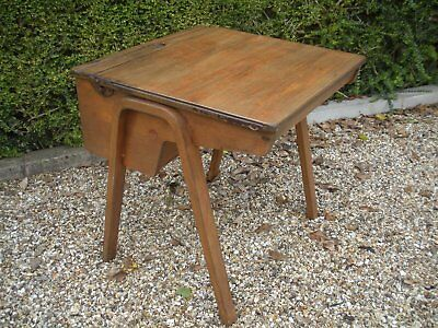 Vintage School Desk. Re-furbished.