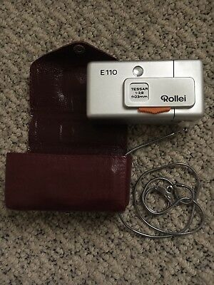 Rollei E110 CAMERA **EXCELLENT** Condition for Vintage Camera from the 70's
