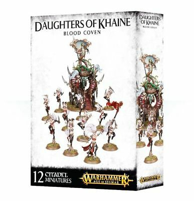 Daughters of Khaine Blood Coven Dark Elves Witch Aelves Bloodwrack Shrine NEW