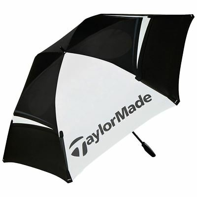 "2017 Taylormade Tm Tour 68"" Lightweight Double Canopy Mens Golf Umbrella"