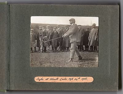 V Rare Photo J H Taylor James Braid South Herefordshire Colwall Park Golf 1908 1